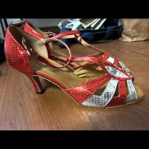 Salsa/ ballroom dance shoes